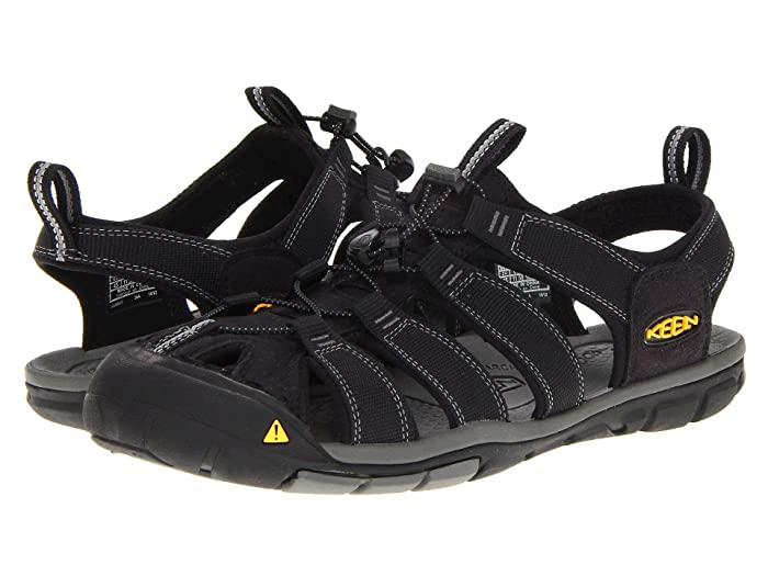 Keen Clearwater CNX (Black/Gargoyle) Mens Shoes