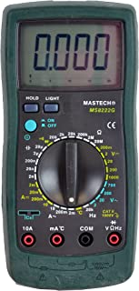 Mastech and OEM by Tekpower MS8222G 31-Range Digital Multimeter with Temperature, Capacitance ,Frequency and More..Full Features