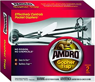 Amdro 100510682 Gopher Trap (2 Pack), Clear