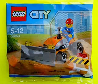 LEGO City Town Construction - Tractor Polybag (30353)