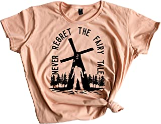 Women's Queen Carol and King Ezekiel Fairy Tale The Walking Dead Crewneck Tee Shirt