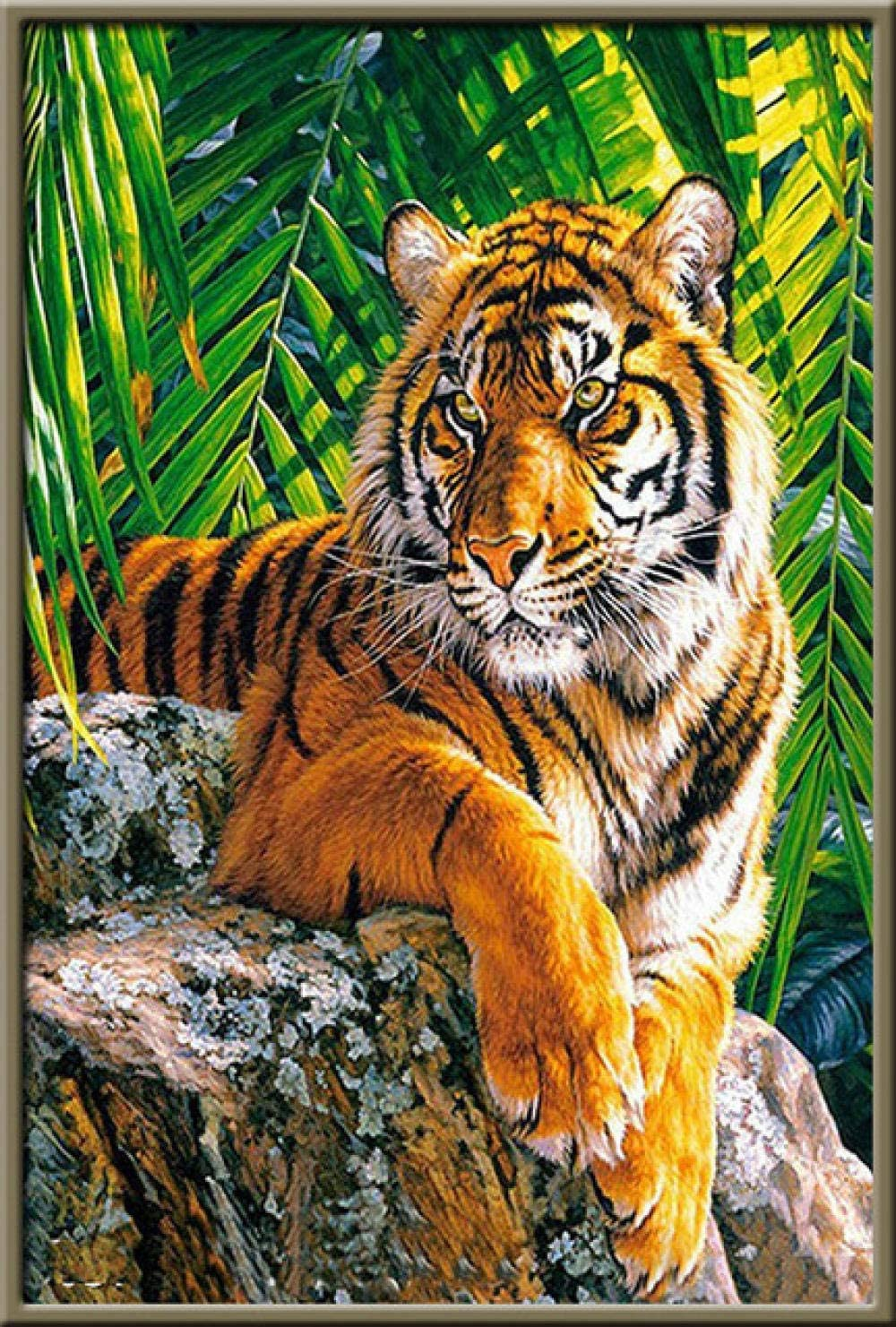 Adult Puzzle 6000 Piece Forest Entertai Translated Game Limited time for free shipping Tiger Family
