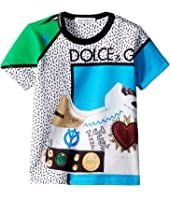 Dolce & Gabbana Kids - Scarpe Print T-Shirt (Infant)