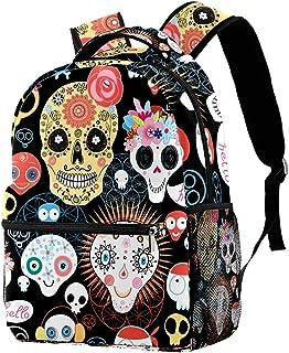 حقيبة ظهر مدرسية كلاسيكية خفيفة الوزن للسفر حقيبة كمبيوتر محمول Daypack للنساء والمراهقات والرجال بنمط كورجي لطيف