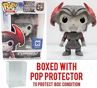 Funko POP! Movies: DC Justice League – Steppenwolf Legion of Collectors Exclusive #214 Vinyl Figure (Bundled with Pop BOX PROTECTOR CASE)