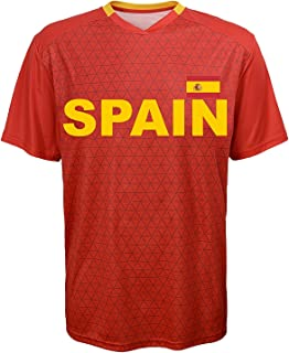 Spain National Team Soccer Jersey - Replica