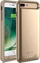 Alpatronix iPhone 8 Plus/7 Plus Battery Case, 4200mAh Slim Portable Protective Extended Charger Cover Compatible with iPhone 8 Plus & iPhone 7 Plus (5.5 inch) BX170plus - (Gold)