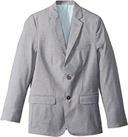 Textured Slub Linen Jacket (Big Kids)
