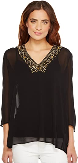 Top/Embellished Neckline