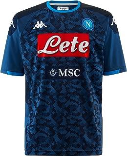 Italian Serie A Men's Away Replica Goalkeeper Match Shirt, Blue, L