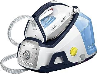 comprar comparacion Bosch TDS8060 Serie 8 Centro de planchado, 2.400 W, 7.2 bares de presión, color azul y blanco 30x24x43cm