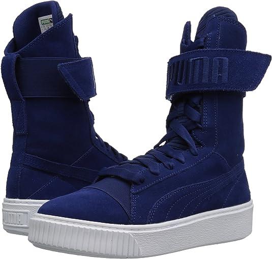 Amazon.com | PUMA Women's Platform Boot Quil Wn | Boots