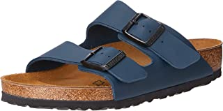 Birkenstock Unisex Arizona, Blue Sandals