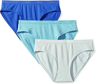 MAE womens MATT & SHINY LOGO Elastic Bikini Underwear