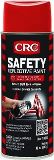 CRC 18017CS CRC Reflective Paint - Red Top Coat 12 WT oz, 16 fl. oz, Aerosol (Pack of 6)