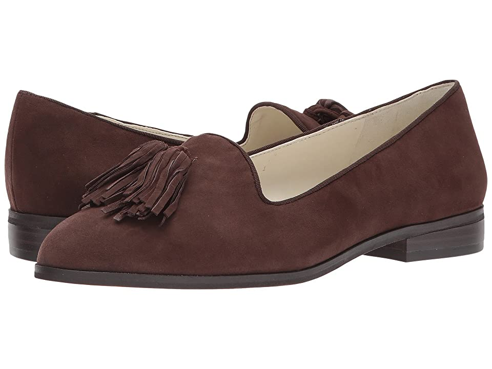 Anne Klein Devina (Dark Brown Suede) Women