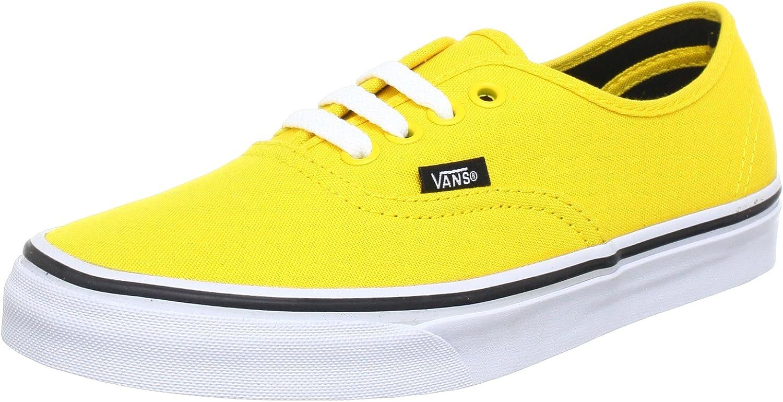 Vans U Authentic Lemon Chrome Bl, Unisex Adults' Low-top