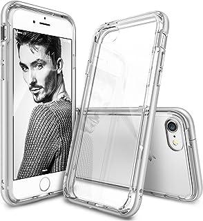 Rearth iPhone 8/7 Ringke Fusion Frame Dual-Layered TPU Bumper Case Cover - Silver