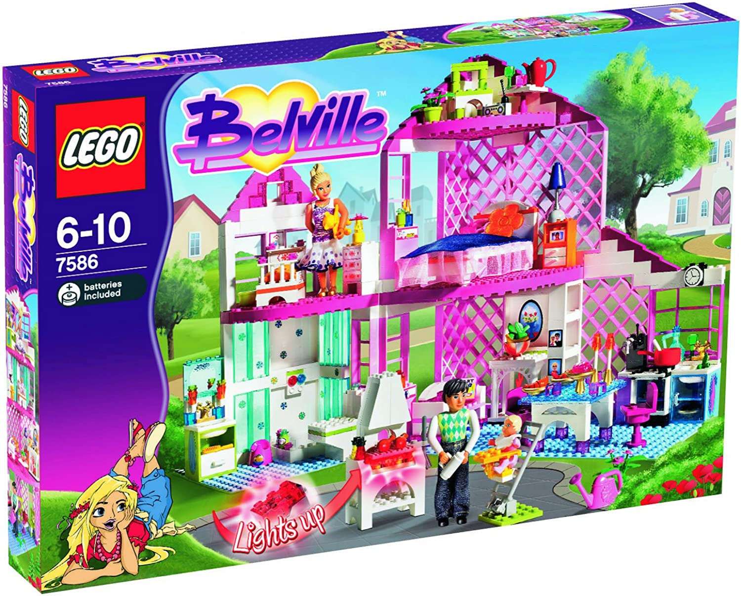 LEGO Belville 7586  Sunshine Home