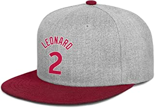 Unisex Man Womens Caps The-Claw-Klaw-Kawhi-Leonard-#2- Fashion Hiking Cap Basketball Hats