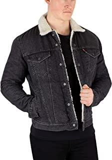 Levis Mens Type 3 Fegin Sherpa Trucker Jacket, ...