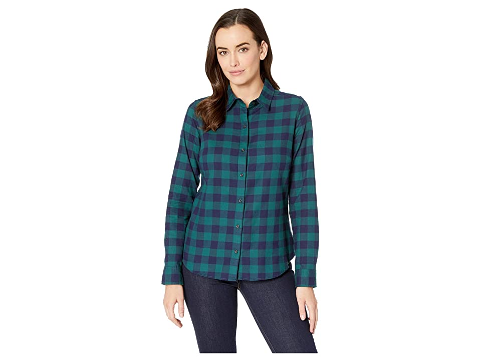 Pendleton - Pendleton Audrey Fitted Flannel Shirt , Blue