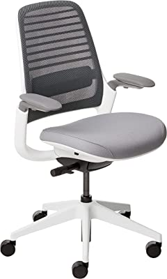 Steelcase Series 1 Office Chair, Carpet Casters, Grey