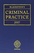 Blackstone's Criminal Practice 2007 (Book & CD-ROM pack)