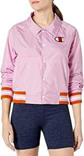 Champion Life Womens Coaches Jacket Warm Up Jacket - Blue