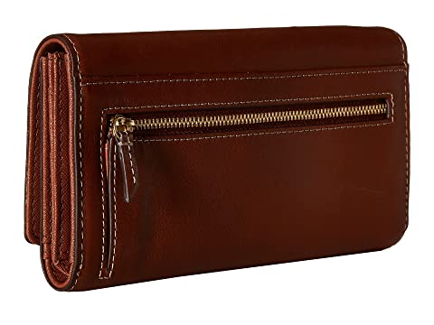 Free Shipping Shop Fossil Emma Flap Clutch Brown For Sale Footlocker The Cheapest Browse Online iB9Wz