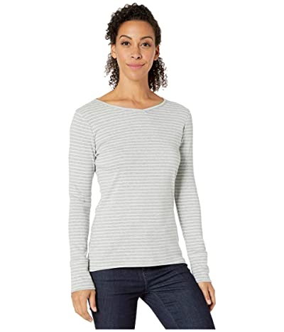 Royal Robbins Kickback Henley II (Light Pewter Stripe) Women