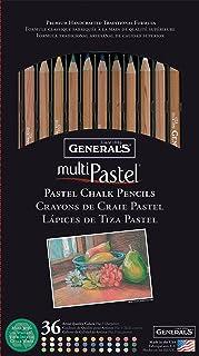 أقلام تلوين متعددة الألوان من جينيرال بينسل 36 في العبوة
