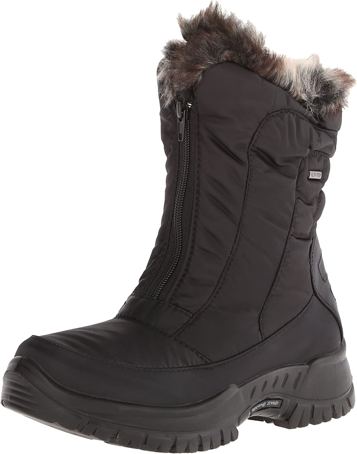 Spring Step Womens Zigzag Snow Boot