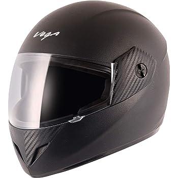 Vega Cliff CLF-LK-M Full Face Helmet (Black, M)