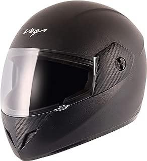 Vega Cliff CLF-LK-L Full Face Helmet (Black, L)