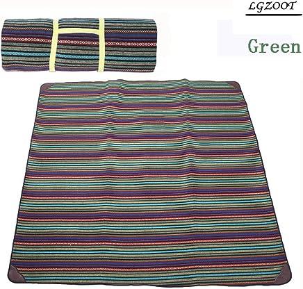 Outdoor Extra Large Wasserdicht Oxford Oxford Oxford Tuch Strand Decke Zelt Teppich Feuchtigkeitsfest Picknickmatte 270  270cm,Grün B072BQN574 | Deutschland Shop  7cd008
