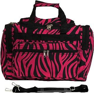 World Traveler Women's Floral Duffel Bag