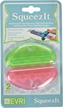 Evriholder Squeeze It Assorted Color Multipurpose Tube Squeezer, Set of 2, Color May Vary