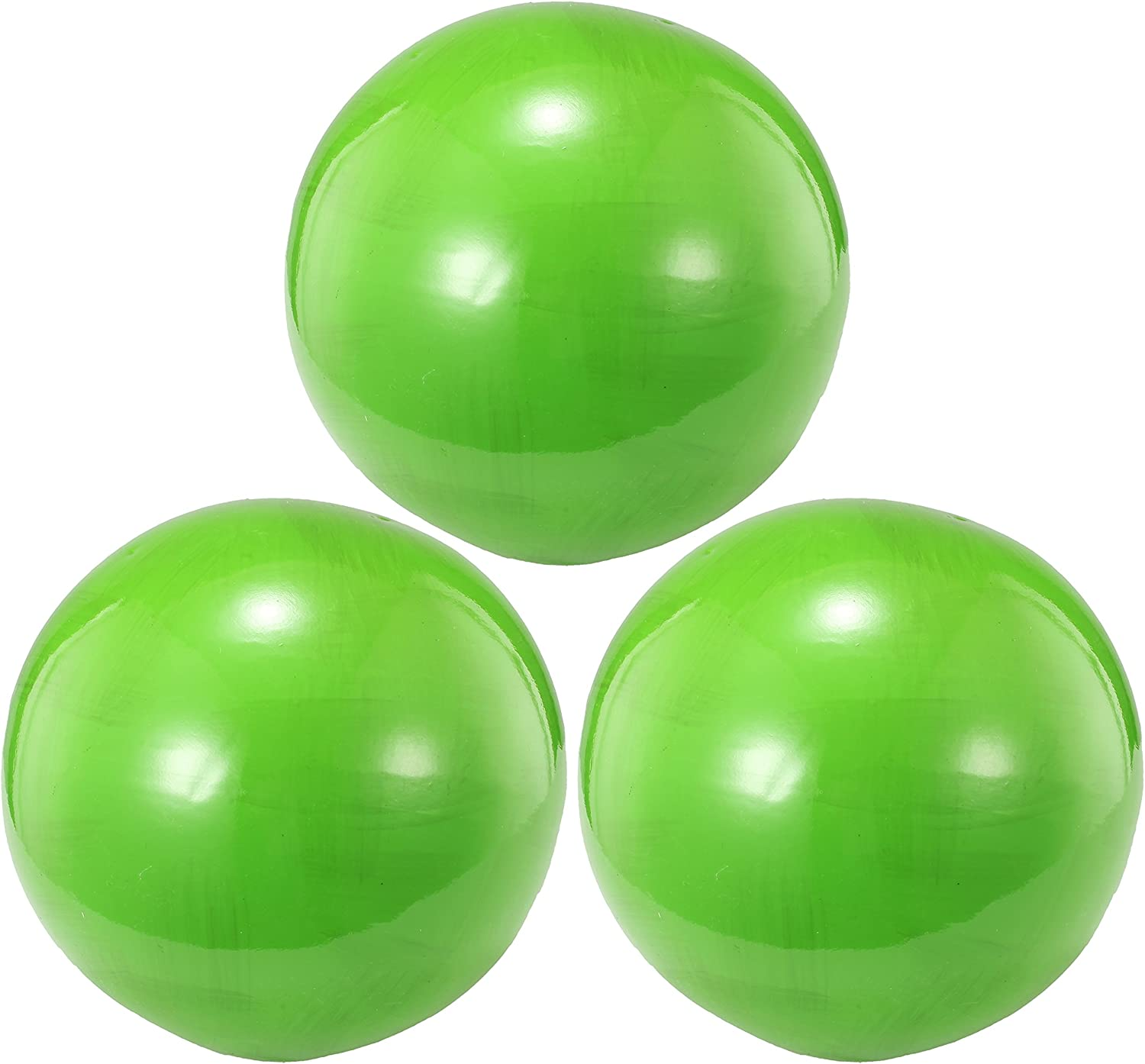 Bombing new work Decorative Lime Green 4-inch X Balls 3 of Contempor Modern Max 56% OFF Set