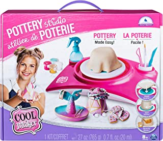 Cool Maker, Pottery Studio, Clay Pottery Wheel Craft Kit for Kids Aged 6 and Up (Edition May Vary)