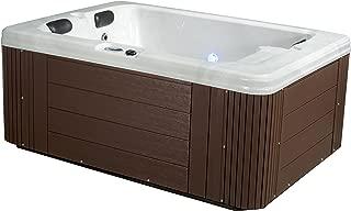 hot tub with treadmill