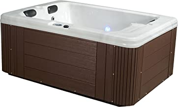 Essential Hot Tubs 24 Jets Devotion Hot Tub, Espresso