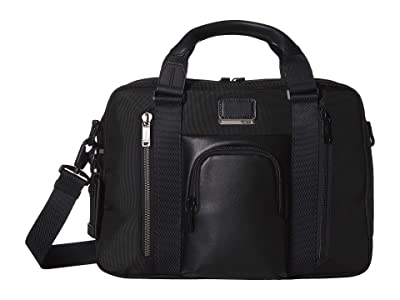 Tumi Alpha Bravo Ellsworth Brief (Black) Briefcase Bags