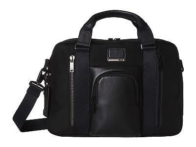 Tumi Alpha Bravo Ellsworth Brief (Black) Briefcase Bags