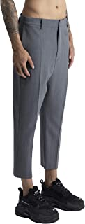 A.M. Couture - Pantalone Classico Cavallo Basso Realizzato in Fresco Lana