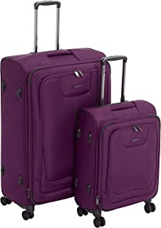 Best protege 5 piece luggage set purple Reviews