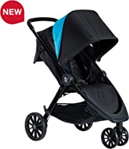 Britax B-Lively Lightweight Stroller - Up to 55 pounds - Car Seat Compatible - UV 50+ Canopy - Easy Fold, Cool Flow Ventilating Fabric, Teal