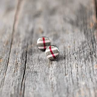 burberry stud earrings
