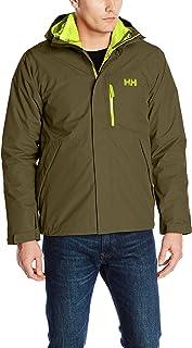 Helly Hansen Men's Squamish CIS 3-in-1 Waterproof Jacket with Zip Out Fleece Liner, 491 Ivy Green, Large