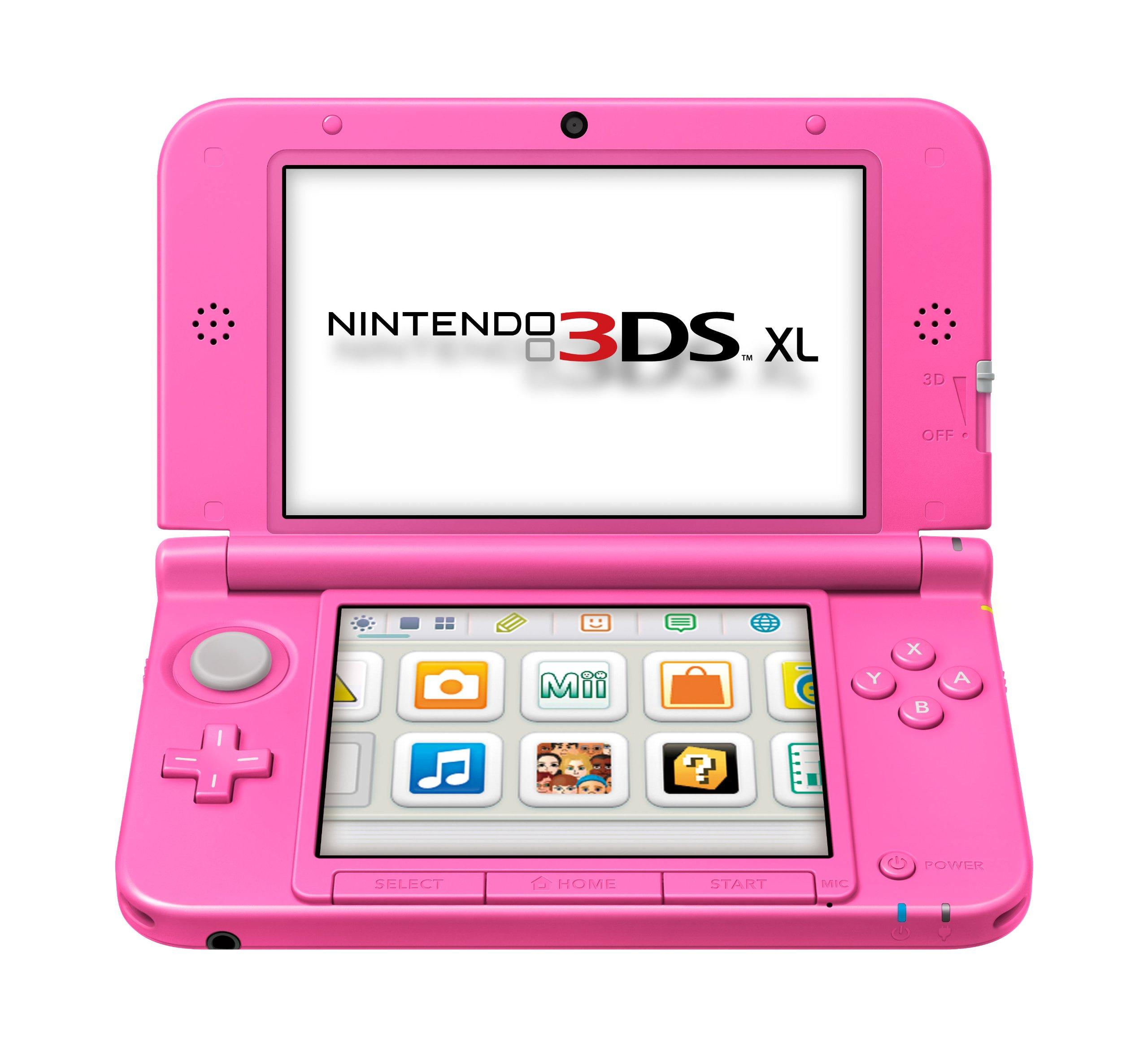 Nintendo 3DS - Consola XL, Color Rosa: Amazon.es: Videojuegos